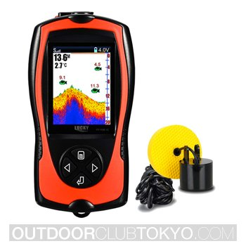 Lucky Portable Fish Finder Wired Sonar Sensor Transducer