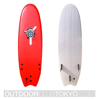 Atom Soft Top Surfboard