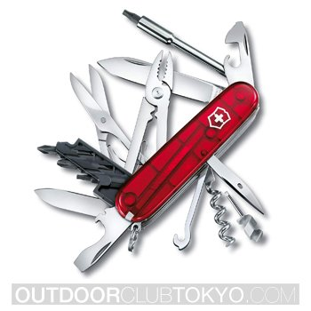 Victorinox Swiss Army CyberTool 34 Translucent Pocket Knife