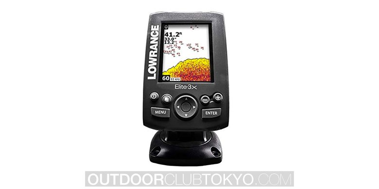 lowrance elite 3x fish finder