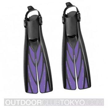 Atomic Aquatics Split Full Foot Dive Fins
