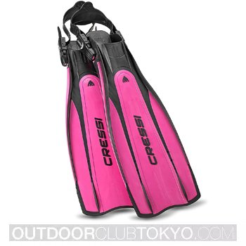 Cressi Pro Open Heel Scuba Diving Fins